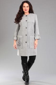Пальто Тэнси 225 серый
