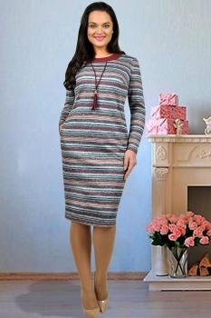 Платье Тэнси 229-1 полоски