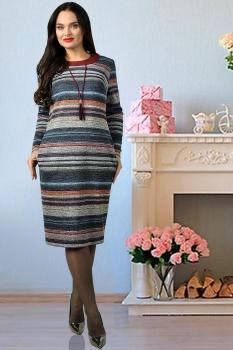 Платье Тэнси 229 полоски