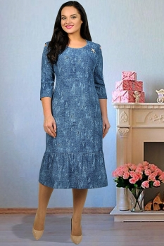 Платье Тэнси 233 синий