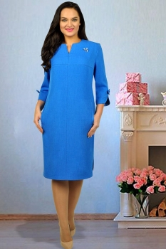 Платье Тэнси 234-1 василек