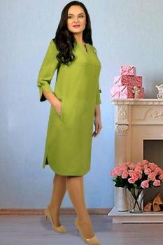 Платье Тэнси 234-2 оливковый