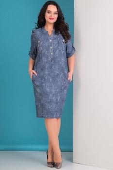 Платье Тэнси 235 синий