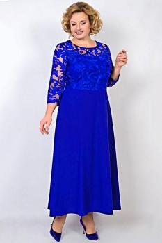 Платье Tricotex Style 10917 василёк
