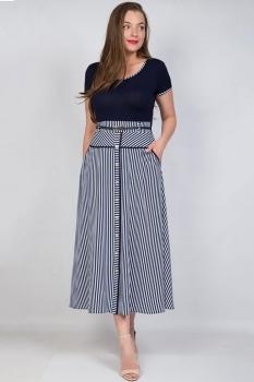 Платье Tricotex Style 11217 полоски