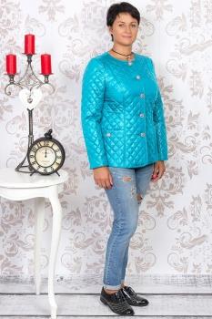 Куртка Tricotex Style 1507-2 светло-бирюзовый
