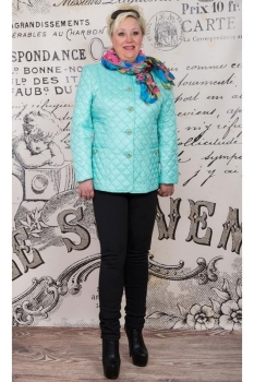Куртка Tricotex Style 1507-6 мята