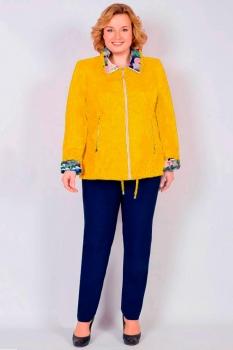 Куртка Tricotex Style 1547-1 горчица