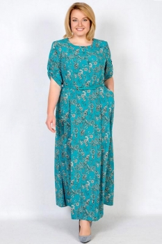 Платье Tricotex Style 1716-5 бирюзовый