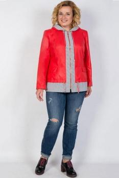 Куртка Tricotex Style 1757 оттенки красного