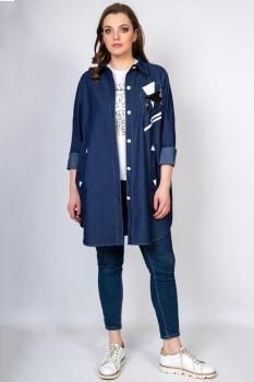 Блузка Tricotex Style 1814-1 джинс