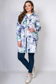 Блузка Tricotex Style 1814 принт цветы