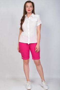 Костюм Tricotex Style 1829 белый+розовый