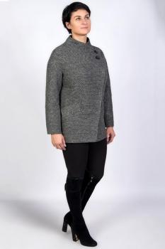 Пальто Tricotex Style 3716М серые тона