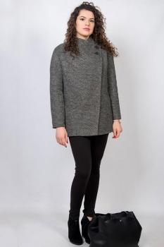 Пальто Tricotex Style 3716/1 серые тона