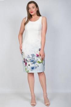 Платье Tricotex Style 7117 светлые тона