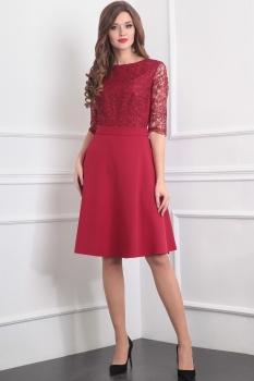 Платье Tvin 5209-2 красный