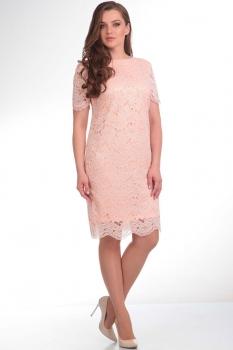 Платье Tvin 5220 бежевый