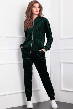 Спортивный костюм Tvin 5223 оттенки зелёного