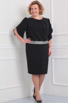 Платье Tvin 5256 тёмно-синий