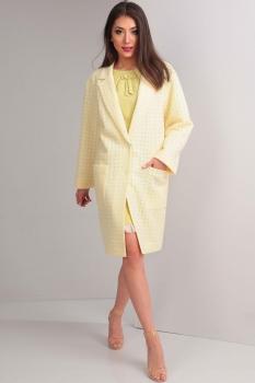 Пальто Tvin 5268-1 оттенки жёлтого