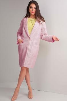 Пальто Tvin 5268 розовый
