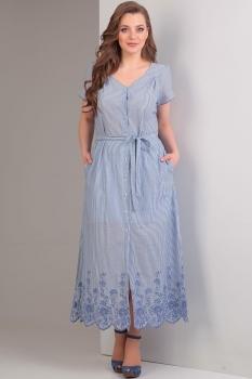 Платье Tvin 5281 голубой