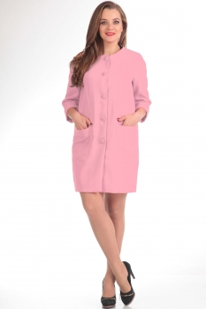 Пальто Tvin 7215-1 оттенки розового