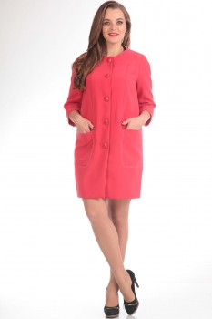 Пальто Tvin 7215 кораллова-розовый
