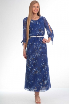 Платье Tvin 7353 синий