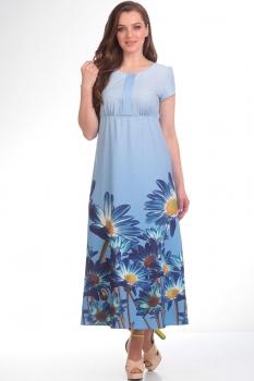 Платье Tvin 7355 голубой
