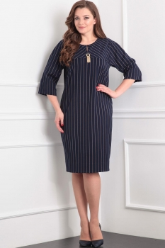 Платье Tvin 7366 тёмно-синий