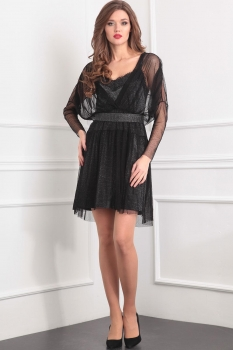 Платье Tvin 7382-1 чёрный