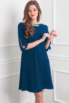 Платье Tvin 7391-2 морская волна