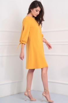 Платье Tvin 7391 горчица