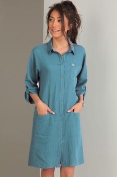 Платье Tvin 7419-1 голубой