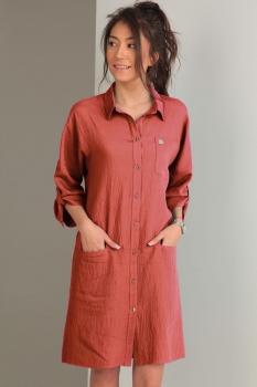 Платье Tvin 7419-2 светло-бордовый