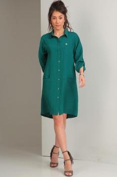 Платье Tvin 7419 морская волна