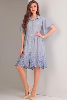 Платье Tvin 7420 голубой