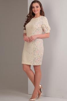 Платье Tvin 7423 светло-жёлтый