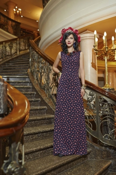 Платье Твой Имидж 1508 Фиолетовый