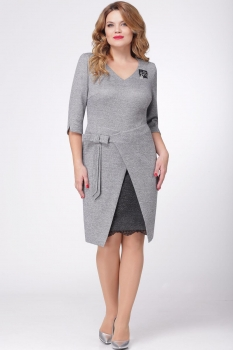 Платье Verita 1051 серый