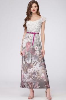 Платье Verita 1093 серый