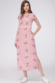 Платье Verita 1095 коралл