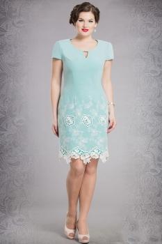 Платье Verita 437 мята