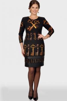 Платье Verita 610 черный