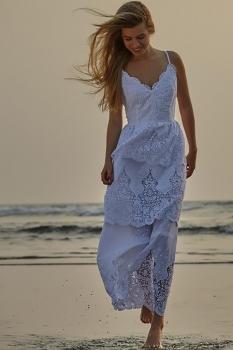 Платье Vesnaletto 1425-1 белый