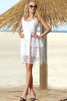 Платье Vesnaletto 1452-2 белый
