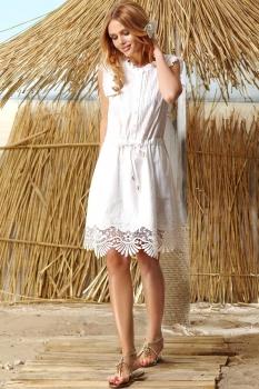 Платье Vesnaletto 1453 белый