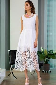 Платье Vesnaletto 1711-3 белый